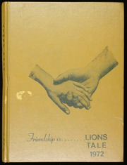1972 Edition, Glenridge Middle School - Lions Tale Yearbook (Orlando, FL)