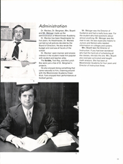 Page 15, 1978 Edition, Westminster Academy - Optime Yearbook (Fort Lauderdale, FL) online yearbook collection