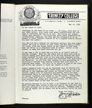 Page 11, 1952 Edition, Trinity College - Beacon Yearbook (Dunedin, FL) online yearbook collection