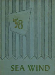 1958 Edition, Seabreeze Private School - Sea Wind Yearbook (Daytona Beach, FL)