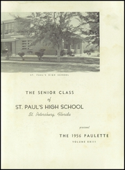 Page 7, 1956 Edition, St Pauls High School - Paulette Yearbook (St Petersburg, FL) online yearbook collection