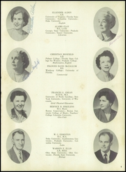 Page 13, 1952 Edition, Ketterlinus High School - Kettle Yearbook (St Augustine, FL) online yearbook collection