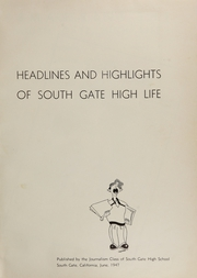 Page 5, 1947 Edition, South Gate High School - Rams Yearbook (South Gate, CA) online yearbook collection