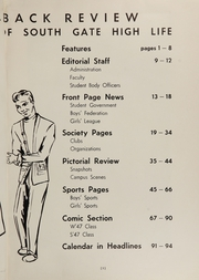 Page 7, 1947 Edition, South Gate High School - Rams Yearbook (South Gate, CA) online yearbook collection