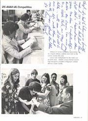 Page 15, 1973 Edition, Lamar Consolidated High School - Lamar Yearbook (Rosenberg, TX) online yearbook collection