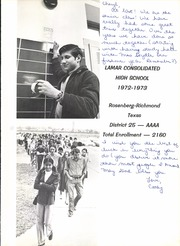Page 5, 1973 Edition, Lamar Consolidated High School - Lamar Yearbook (Rosenberg, TX) online yearbook collection