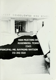 Page 5, 1987 Edition, Lamar Consolidated High School - Lamar Yearbook (Rosenberg, TX) online yearbook collection
