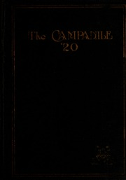 Page 1, 1920 Edition, Rice University - Campanile Yearbook (Houston, TX) online yearbook collection