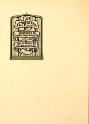 Page 12, 1927 Edition, Rice University - Campanile Yearbook (Houston, TX) online yearbook collection