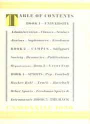 Page 11, 1930 Edition, Rice University - Campanile Yearbook (Houston, TX) online yearbook collection