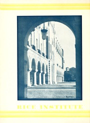 Page 14, 1930 Edition, Rice University - Campanile Yearbook (Houston, TX) online yearbook collection