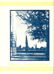 Page 16, 1930 Edition, Rice University - Campanile Yearbook (Houston, TX) online yearbook collection