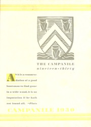 Page 5, 1930 Edition, Rice University - Campanile Yearbook (Houston, TX) online yearbook collection