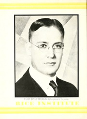 Page 8, 1930 Edition, Rice University - Campanile Yearbook (Houston, TX) online yearbook collection