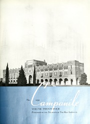 Page 7, 1939 Edition, Rice University - Campanile Yearbook (Houston, TX) online yearbook collection