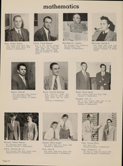 Page 17, 1952 Edition, Rice University - Campanile Yearbook (Houston, TX) online yearbook collection