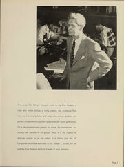 Page 8, 1952 Edition, Rice University - Campanile Yearbook (Houston, TX) online yearbook collection