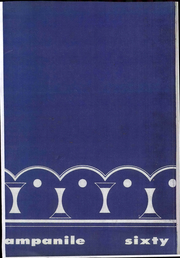 1960 Edition, Rice University - Campanile Yearbook (Houston, TX)