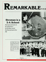 Page 8, 1987 Edition, Stroman High School - RoundUp Yearbook (Victoria, TX) online yearbook collection