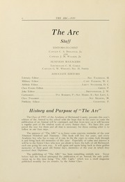 Page 10, 1919 Edition, Academy of Richmond County High School - Arc Yearbook (Augusta, GA) online yearbook collection
