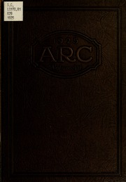 Academy of Richmond County High School - Arc Yearbook (Augusta, GA) online yearbook collection, 1925 Edition, Page 1