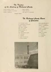 Page 12, 1951 Edition, Academy of Richmond County High School - Arc Yearbook (Augusta, GA) online yearbook collection