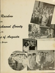 Page 7, 1951 Edition, Academy of Richmond County High School - Arc Yearbook (Augusta, GA) online yearbook collection
