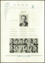 Page 12, 1935 Edition, Druid Hills High School - Saga Yearbook (Atlanta, GA) online yearbook collection