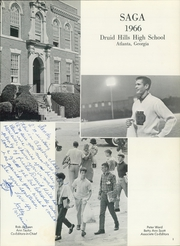 Page 5, 1966 Edition, Druid Hills High School - Saga Yearbook (Atlanta, GA) online yearbook collection