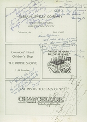 Page 149, 1947 Edition, Columbus High School - Cohiscan Yearbook (Columbus, GA) online yearbook collection