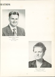 Page 17, 1952 Edition, Columbus High School - Cohiscan Yearbook (Columbus, GA) online yearbook collection