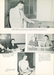 Page 13, 1954 Edition, Columbus High School - Cohiscan Yearbook (Columbus, GA) online yearbook collection
