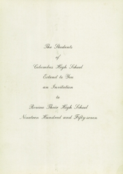 Page 5, 1957 Edition, Columbus High School - Cohiscan Yearbook (Columbus, GA) online yearbook collection
