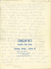 Page 3, 1973 Edition, Columbus High School - Cohiscan Yearbook (Columbus, GA) online yearbook collection