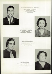 Page 12, 1962 Edition, Chattanooga Valley High School - Telesophia Yearbook (Flintstone, GA) online yearbook collection
