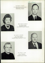 Page 13, 1962 Edition, Chattanooga Valley High School - Telesophia Yearbook (Flintstone, GA) online yearbook collection