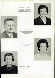 Page 15, 1962 Edition, Chattanooga Valley High School - Telesophia Yearbook (Flintstone, GA) online yearbook collection