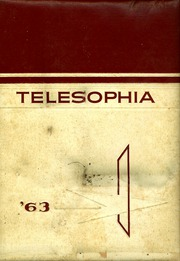 1963 Edition, Chattanooga Valley High School - Telesophia Yearbook (Flintstone, GA)