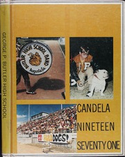 1971 Edition, George P Butler High School - Candela Yearbook (Augusta, GA)