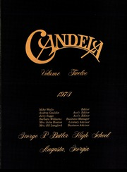 Page 15, 1973 Edition, George P Butler High School - Candela Yearbook (Augusta, GA) online yearbook collection