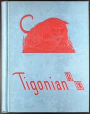 1963 Edition, Carver High School - Tigonian Yearbook (Columbus, GA)
