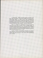 Page 15, 1968 Edition, Carver High School - Tigonian Yearbook (Columbus, GA) online yearbook collection