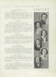 Page 11, 1934 Edition, LaGrange High School - Granger Yearbook (Lagrange, GA) online yearbook collection