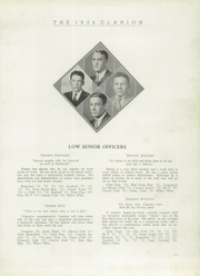 Page 15, 1934 Edition, LaGrange High School - Granger Yearbook (Lagrange, GA) online yearbook collection