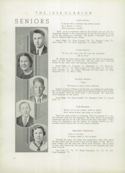 Page 16, 1934 Edition, LaGrange High School - Granger Yearbook (Lagrange, GA) online yearbook collection