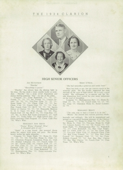Page 7, 1934 Edition, LaGrange High School - Granger Yearbook (Lagrange, GA) online yearbook collection