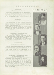 Page 9, 1934 Edition, LaGrange High School - Granger Yearbook (Lagrange, GA) online yearbook collection