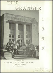 Page 7, 1955 Edition, LaGrange High School - Granger Yearbook (Lagrange, GA) online yearbook collection