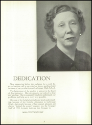 Page 9, 1955 Edition, LaGrange High School - Granger Yearbook (Lagrange, GA) online yearbook collection