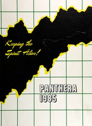 1985 Edition, Campbell High School - Panthera Yearbook (Smyrna, GA)